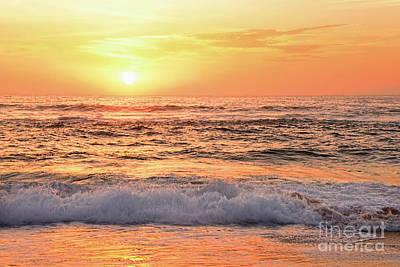Photograph - Red Reflections At Sunrise by Kaye Menner