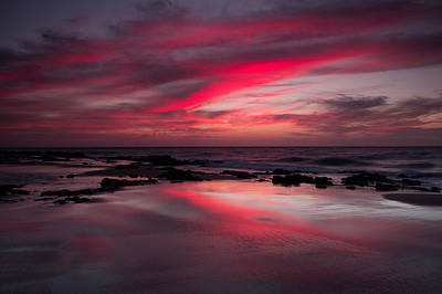 Red Reflections Art Print