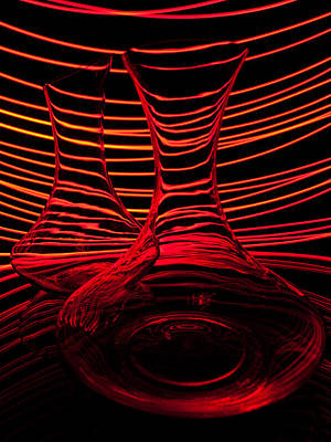 Abstractions Photograph - Red Rhythm Iv by Davorin Mance