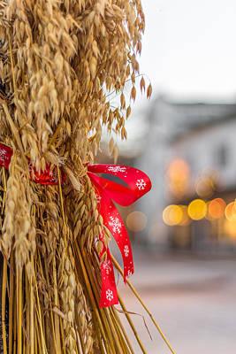 Photograph - Red Ribbon by Aldona Pivoriene