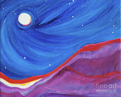 Painting - Red Ridge By Jrr by First Star Art
