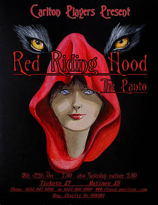 Painting - Red Riding Hood by Steve Jones