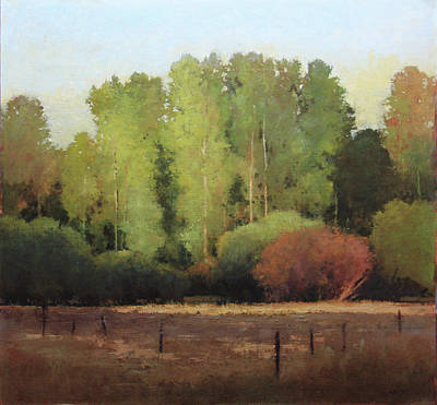 Painting - Red River Brush by Shanna Kunz