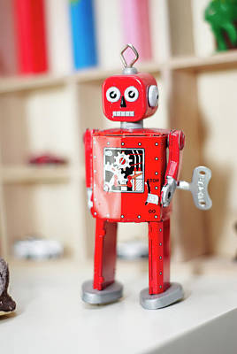 Photograph - Red Robot by Craig Thomas
