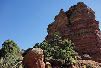 Photograph - Red Rock by Ann Powell