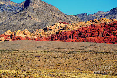 Photograph - Red Rock Canyon 13 by Diane montana Jansson