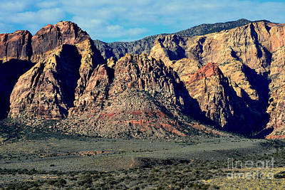 Photograph - Red Rock Canyon 14 by Diane montana Jansson