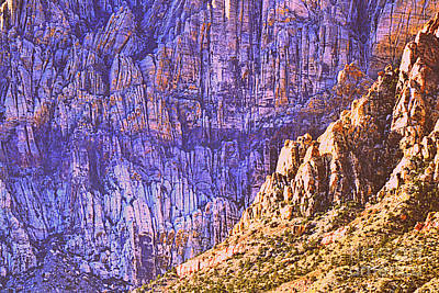 Photograph - Red Rock Canyon 19 by Diane montana Jansson