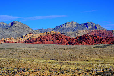 Photograph - Red Rock Canyon 20 by Diane montana Jansson
