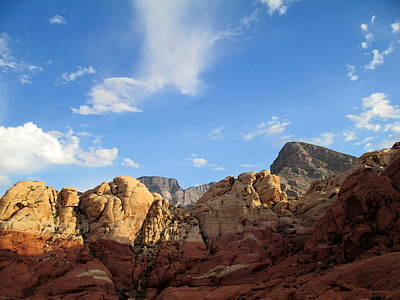Photograph - Red Rock Canyon 2014 Number 21 by Randall Weidner