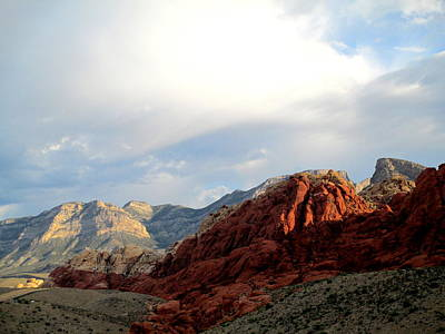 Photograph - Red Rock Canyon 2014 Number 8 by Randall Weidner