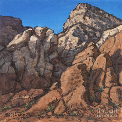 Painting - Red Rock Canyon 4 by Janet  Kruskamp