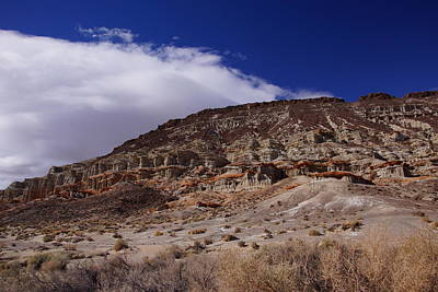 Photograph - Red Rock Canyon 5 by Michael Courtney