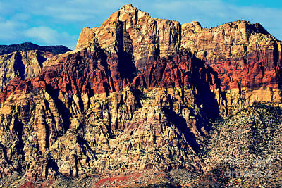 Photograph - Red Rock Canyon 9 by Diane montana Jansson