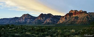 Photograph - Red Rock Canyon by Burland McCormick