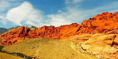 Painting - Red Rock Canyon - Las Vegas by Shelia Kempf