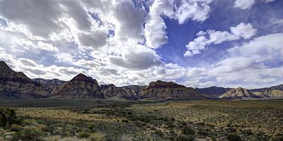 Red Rock Canyon Art Print by Mike Herdering