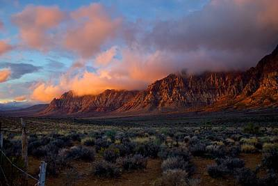 Photograph - Red Rock Canyon National Conservation Area Las Vegas by Michael Rogers