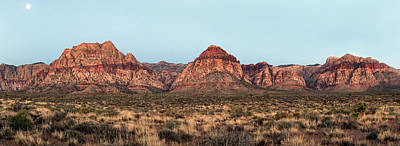 Photograph - Red Rock Canyon Panorama by John Orsbun