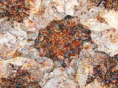 Red Rock Canyon - Soft Rock Art Print