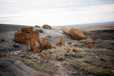 Photograph - Red Rock Coulee II by Leanna Lomanski