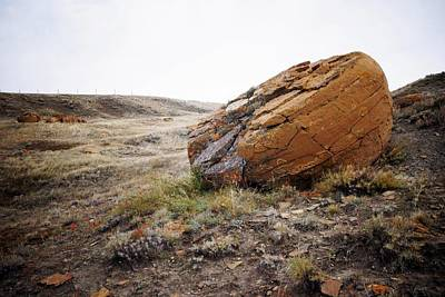 Photograph - Red Rock Coulee IIi by Leanna Lomanski
