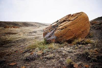 Red Rock Coulee IIi Art Print