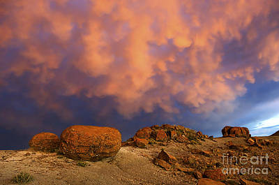 Photograph - Red Rock Coulee Sunset 2 by Bob Christopher