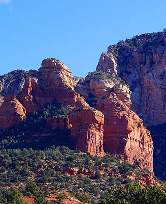 Red Rock Country Landscapes Art Print