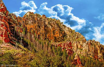 Photograph - Red Rock Country Sedona Arizona by Bob and Nadine Johnston