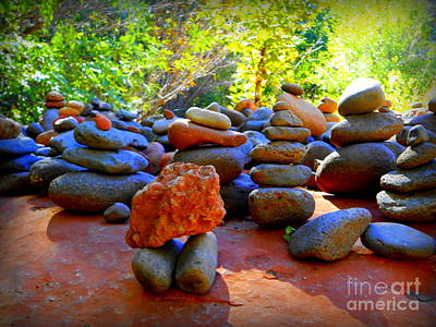 Red Rock Crossing Art Print by R Dupras