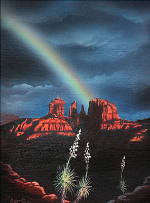 Red Rock Crossing Sedona Arizona Art Print by Jerry Bokowski