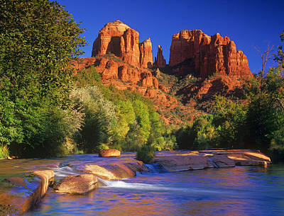 Cathedral Rock Photograph - Red Rock Crossing by Timm Chapman
