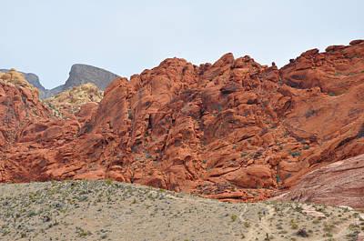 Digital Art - Red Rock Folds by Kirt Tisdale