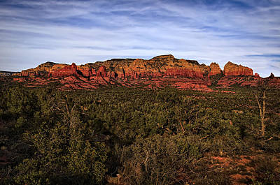 Red Rock Golden Hour 26 Art Print
