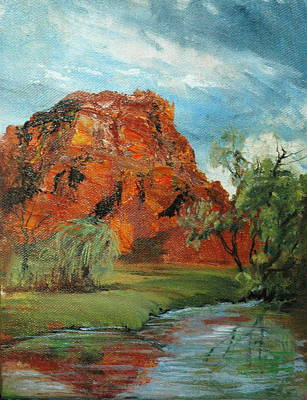 Painting - Red Rock by Jolyn Kuhn
