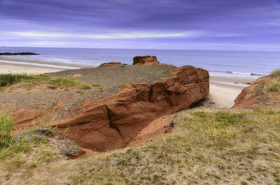 Photograph - Red Rock by Michel Legare