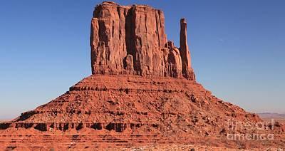 Photograph - Red Rock Mitten by Adam Jewell