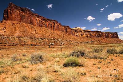Photograph - Red Rock Ridge by Adam Jewell
