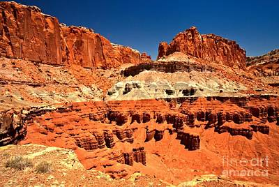 Photograph - Red Rock Ridges by Adam Jewell