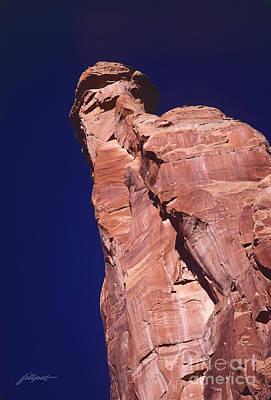 Red Rock Spier Art Print