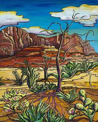 Painting - Red Rock Splendor by Alexandria Winslow