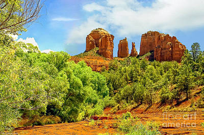Photograph - Red Rock State Park Sedona Arizona by Bob and Nadine Johnston