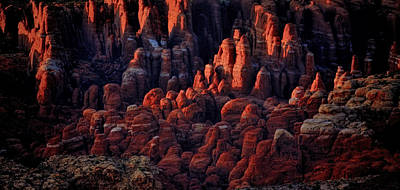 Photograph - Red Rock Sunset by Ray Kent