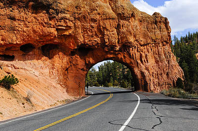 Photograph - Red Rock Tunnel by Don and Bonnie Fink