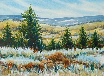 Painting - Red Rock View by Lynne Haines