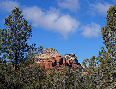 Photograph - Red Rock Vista by Broderick Delaney