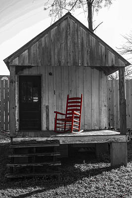 Red Rocker   Print by Steven  Taylor