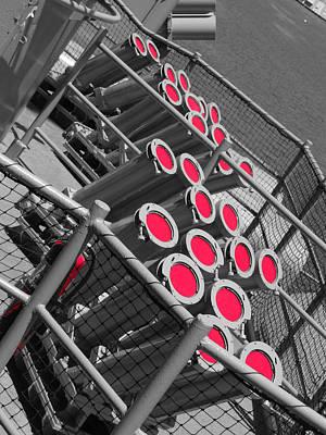 Photograph - Red Rocket Launchers. by Richard J Cassato