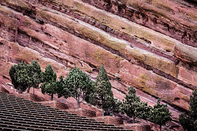 Photograph - Red Rocks Amphitheater by Karen Saunders